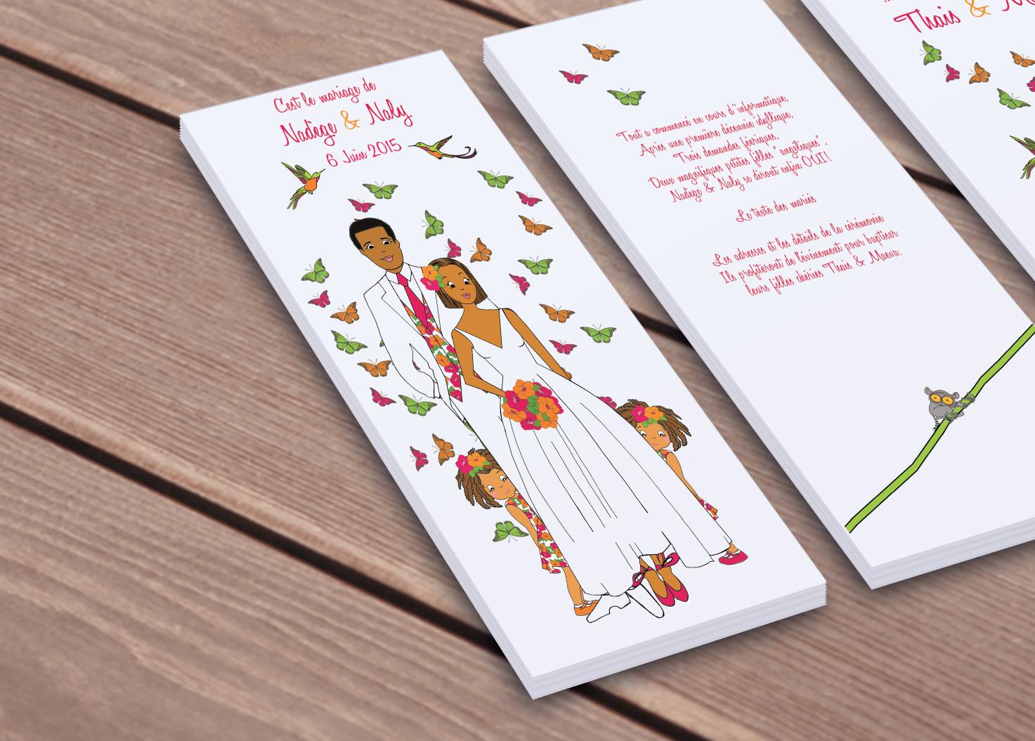 Texte faire part mariage en malgache